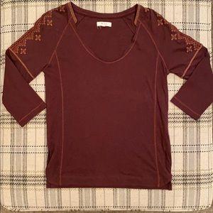 Madewell 3/4 Sleeve Shirt